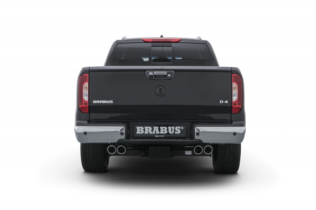 Brabus adds style, power to Mercedes-Benz X-Class pickup