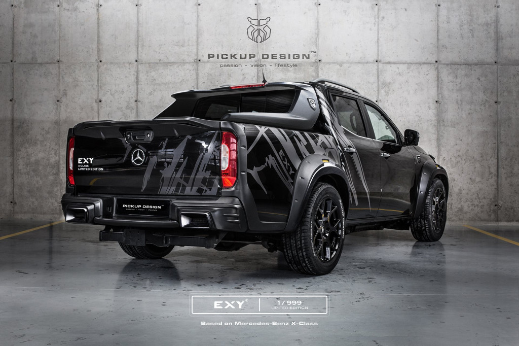 Tuner builds wild Mercedes-Benz X-Class pickup truck
