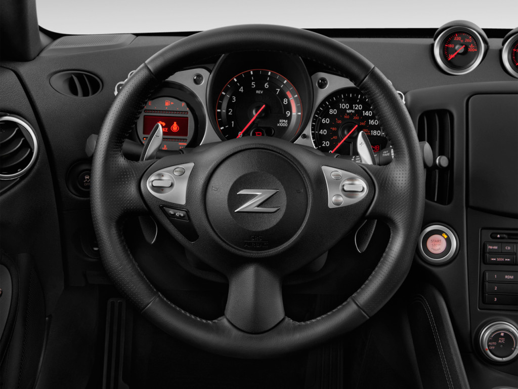 Image: 2018 Nissan 370Z Coupe Auto Steering Wheel, size: 1024 x 768, type: gif, posted on ...