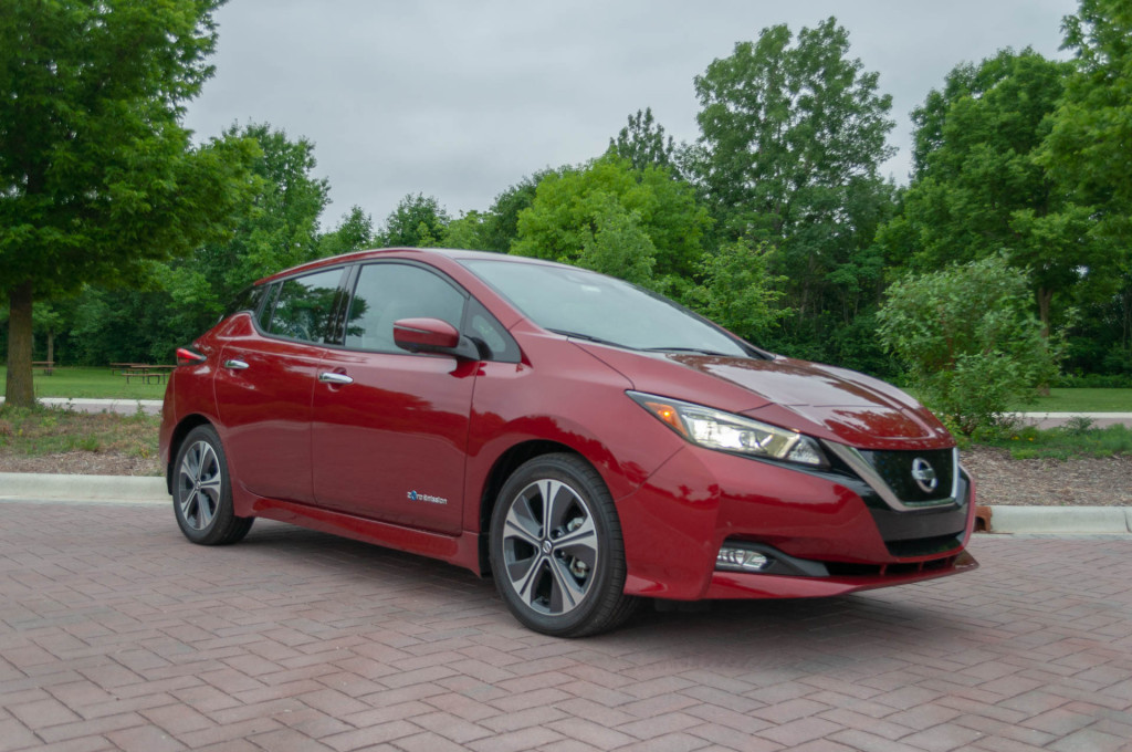 2019 Nissan Leaf To Cost 30 885 Long Range Battery Still To Come