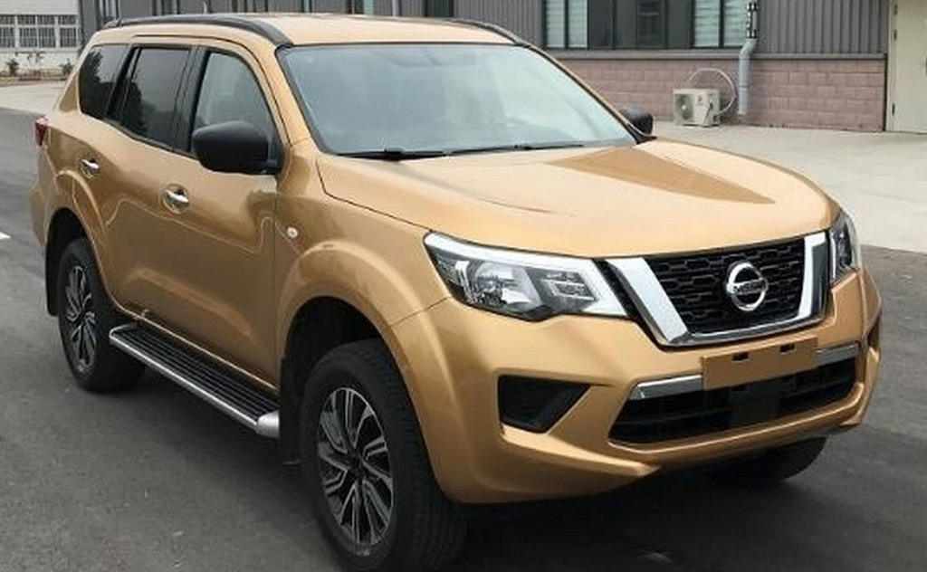 Nissan Terra Body On Frame Suv Leaked