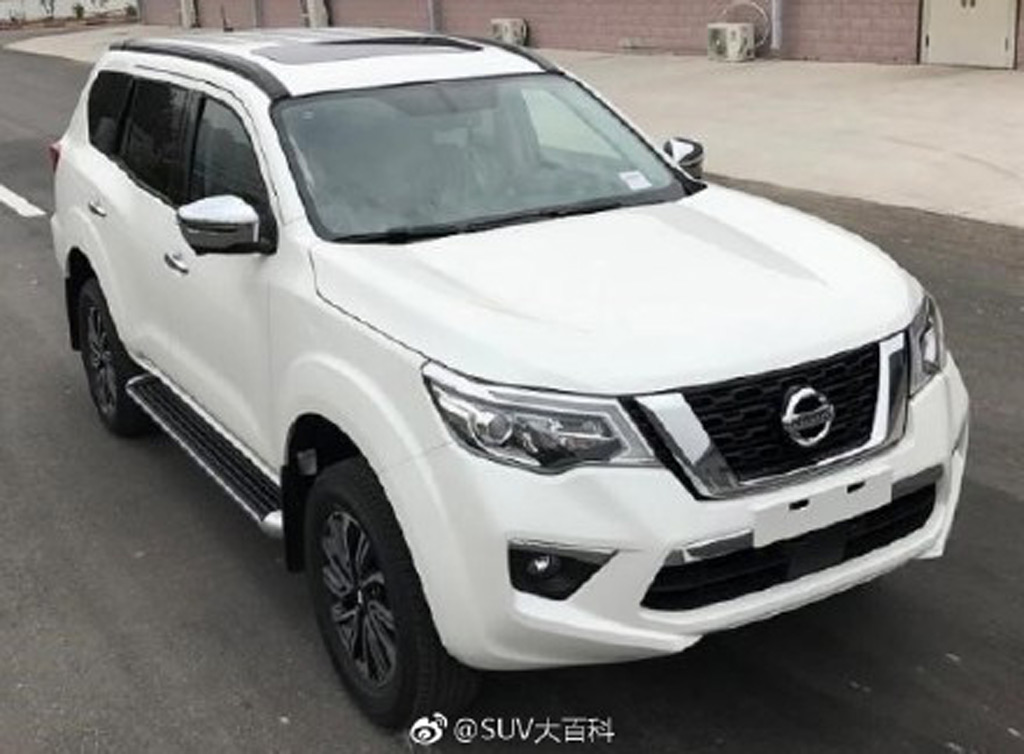 Nissan Terra body-on-frame SUV leaked