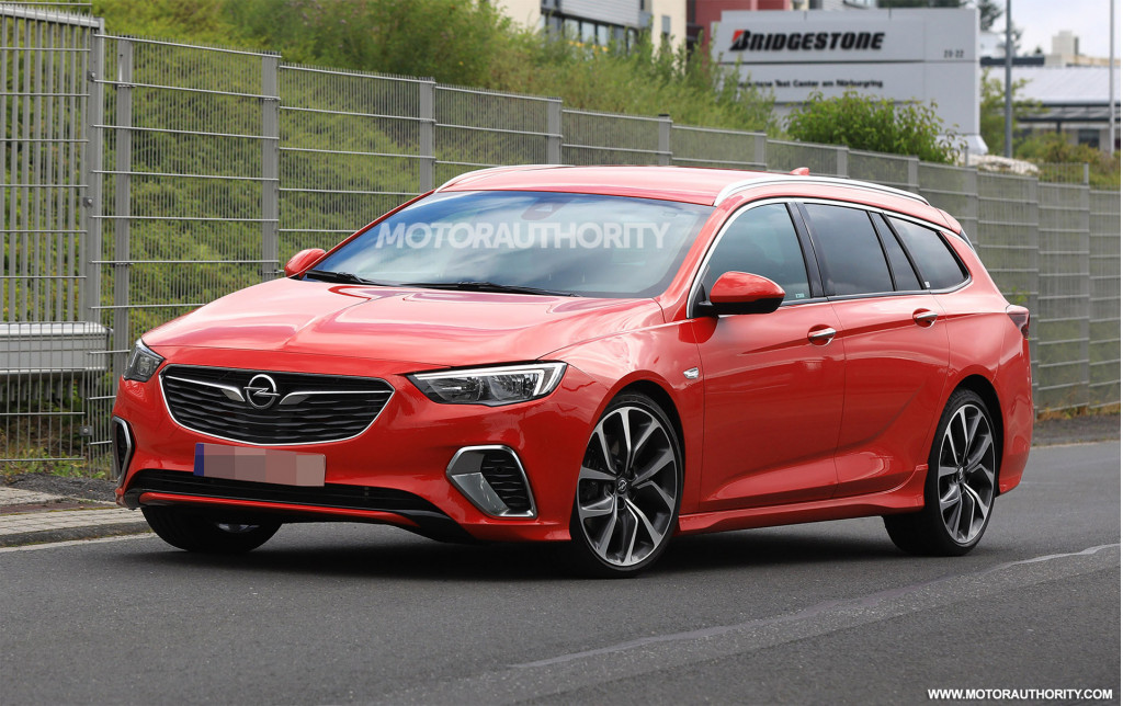 2018 Opel Insignia Gsi Sports Tourer Spy Shots