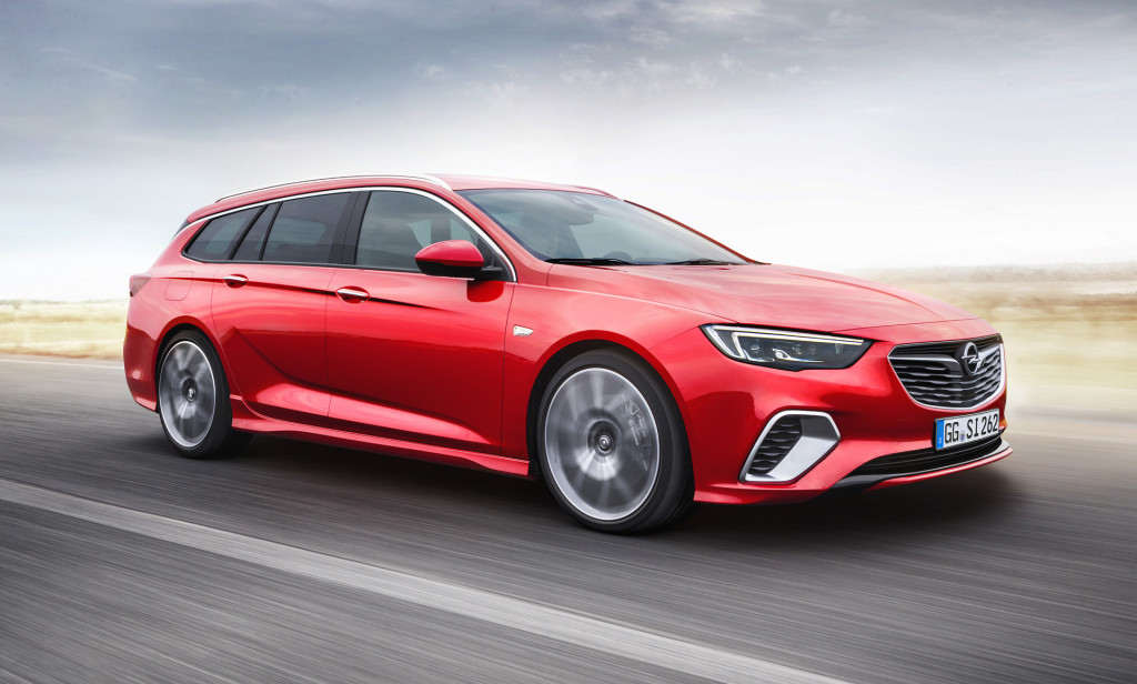 Wagons Ho Opel Insignia Gsi Sports Tourer Revealed