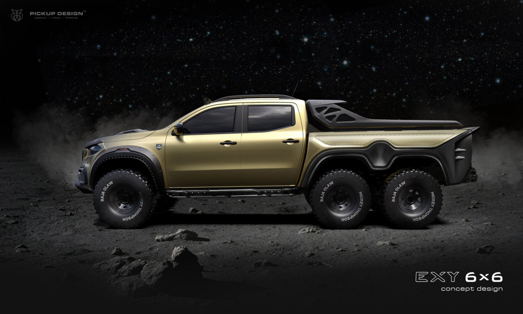 Tuner proposes Mercedes-Benz X-Class 6x6 pickup