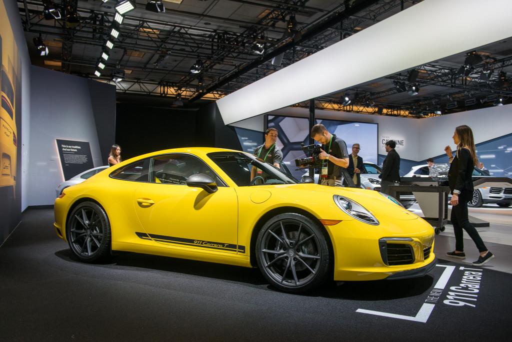 2017 Jetta S >> Image: 2018 Porsche Carrera T, 2017 Los Angeles Auto Show, size: 1024 x 683, type: gif, posted ...