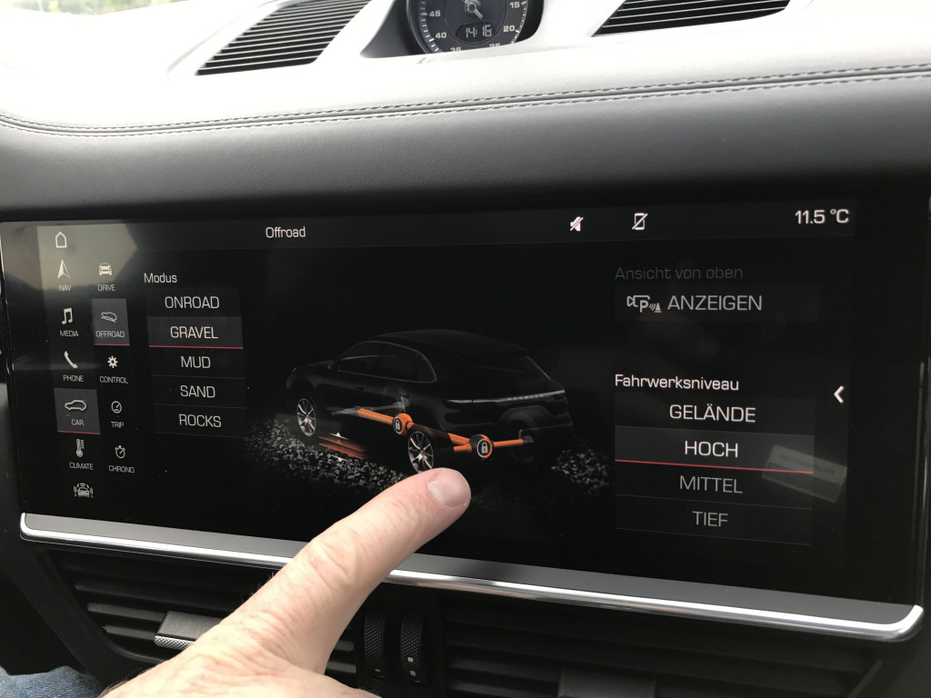 2019 Porsche Cayenne 4D Chassis Control