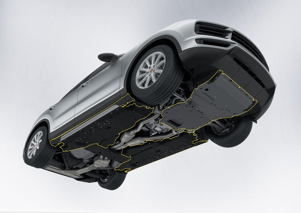 image  porsche cayenne underbody  road package size    type gif posted