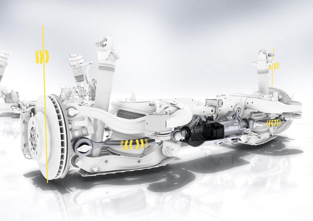 2019 Porsche Cayenne rear-axle steering
