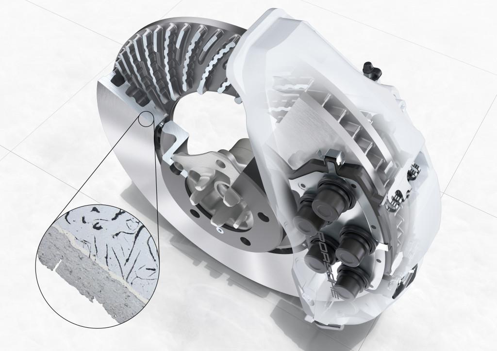 2019 Porsche Cayenne PSCB brakes
