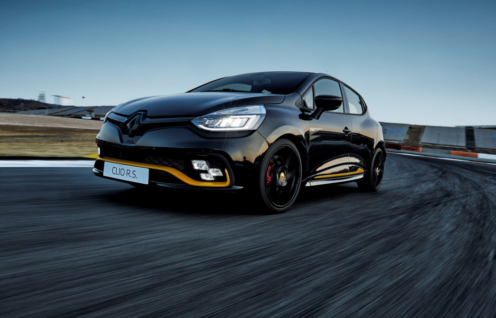 Renault rolls out F1-inspired Clio RS 18 hot hatch