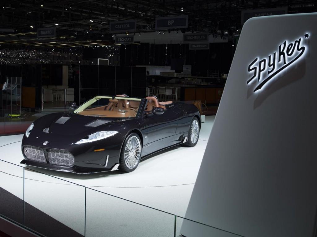 Spyker Debuts C8 Preliator Spyder With 600 Hp Koenigsegg V 8