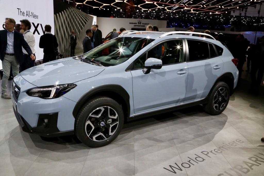Image: 2018 Subaru Crosstrek, 2017 Geneva auto show, size ...