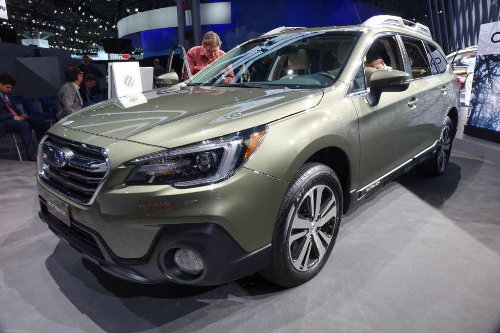 Image: 2018 Subaru Outback, 2017 Detroit auto show, size ...