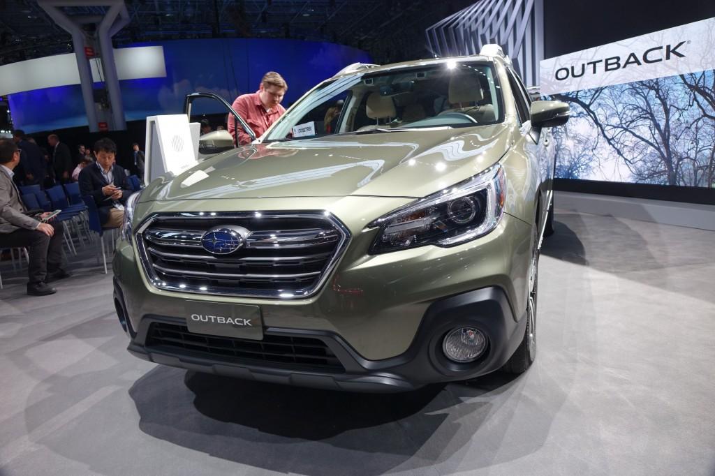 Image 2018 Subaru Outback 2017 Detroit Auto Show Size