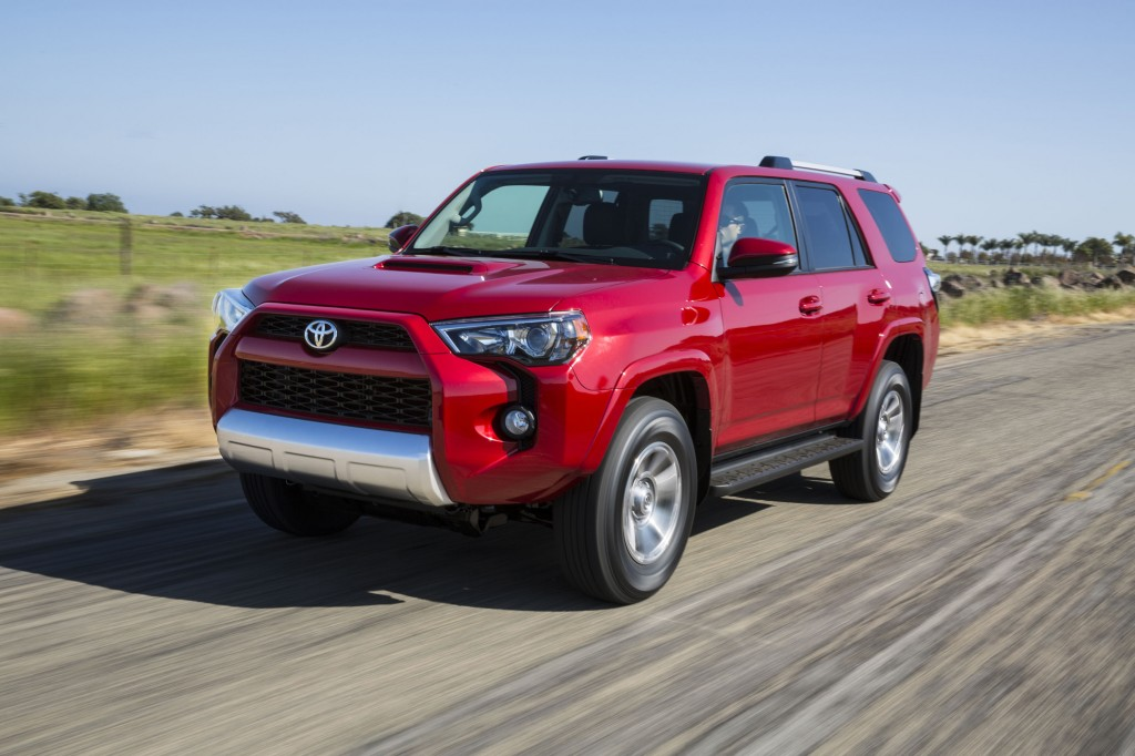 2018 Toyota 4runner Review Ratings Specs Prices And