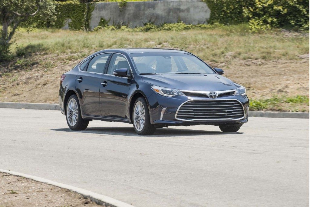 2018 Toyota Avalon Review Ratings Specs Prices And Photos The Car Connection