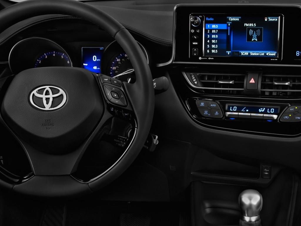 Image 2018 Toyota C Hr Xle Premium Fwd Natl Instrument