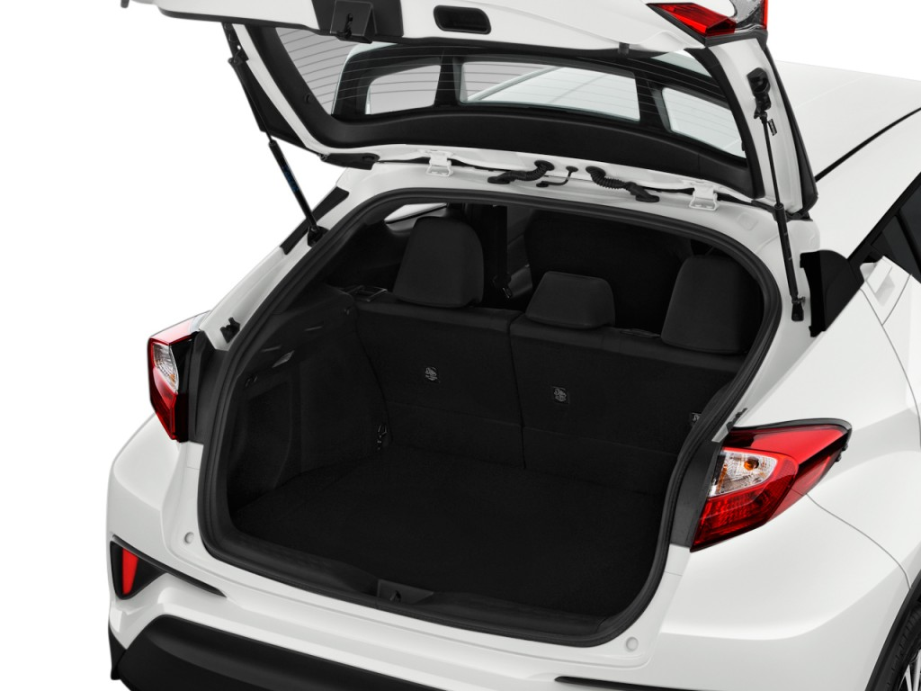 Image: 2018 Toyota C-HR XLE Premium FWD (Natl) Trunk, size: 1024 x 768, type: gif, posted on ...