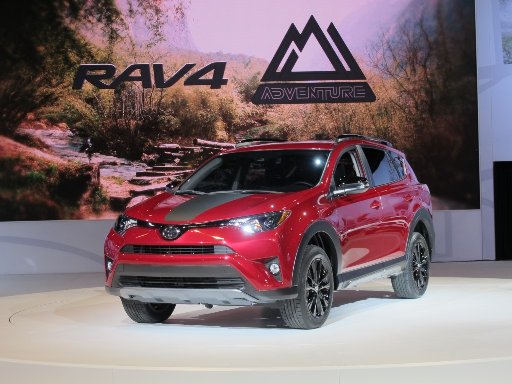2018 Toyota Rav4 Adventure 2017 Chicago Auto Show