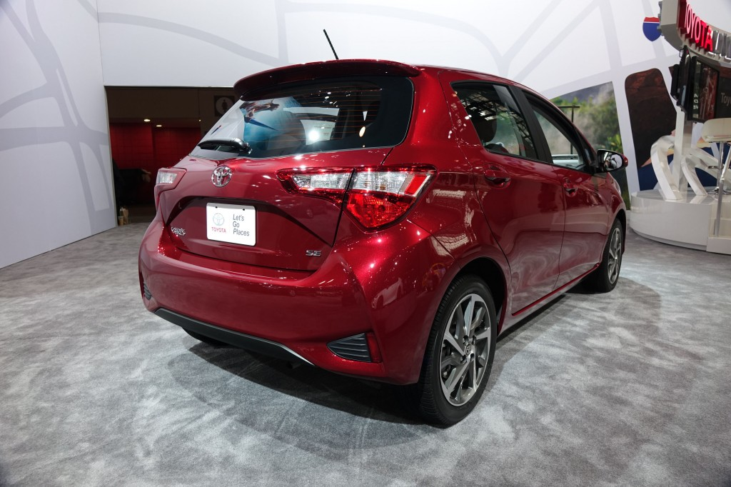 2018 Toyota Yaris, 2017 New York auto show