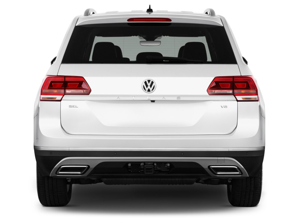 Image 2018 Volkswagen Atlas 3 6l V6 Sel 4motion Rear Exterior View Size 1024 X 768 Type Gif