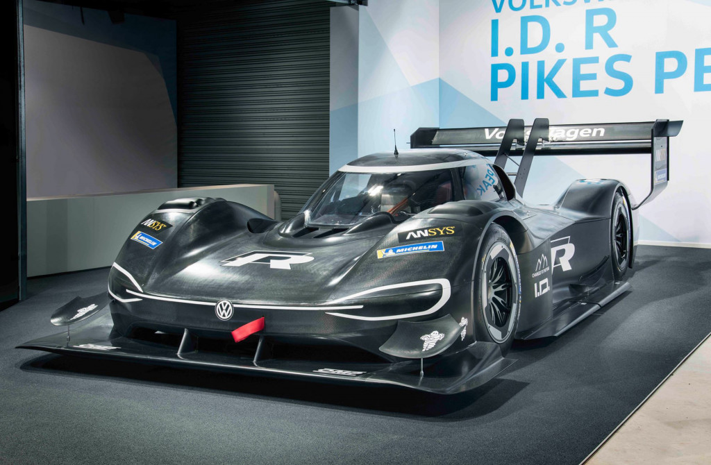 VW ID R Pikes Peak racer accelerates faster than an F1 car