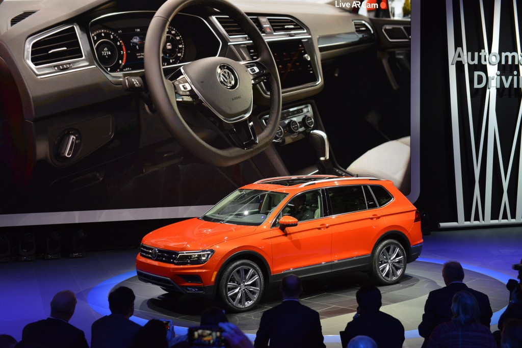 2018 VW Tiguan crossover recalled over fire risk