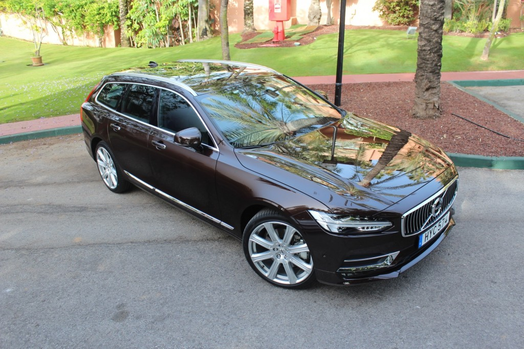 2018 Volvo V90 (Euro-spec prototype)  -  First Drive, June 2016