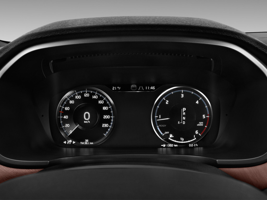 Image: 2018 Volvo V90 T5 FWD Inscription Instrument ...