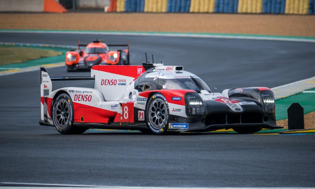 2019/2020 Toyota TS050 Hybrid LMP1 race car