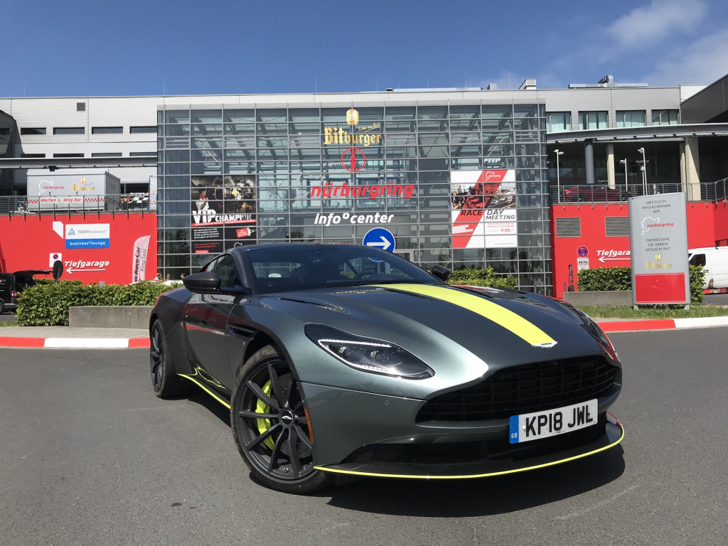 2019 Aston Martin DB11 AMR, Nurburg, Germany, media drive, 2018