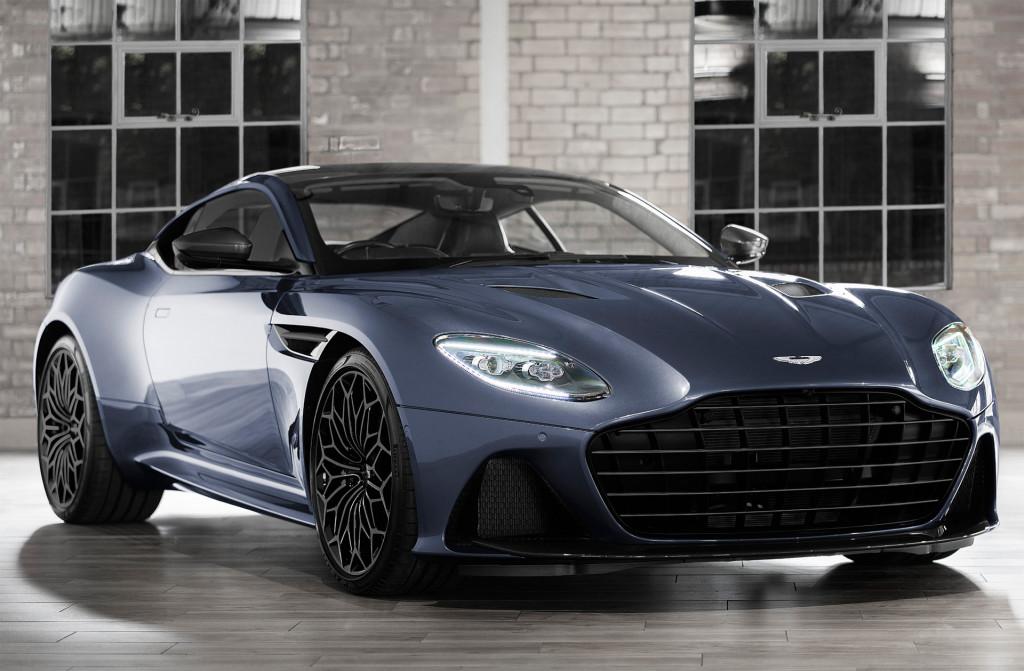 Daniel Craig chose the spec on an Aston Martin DBS for 2019's Neiman Marcus Christmas Book