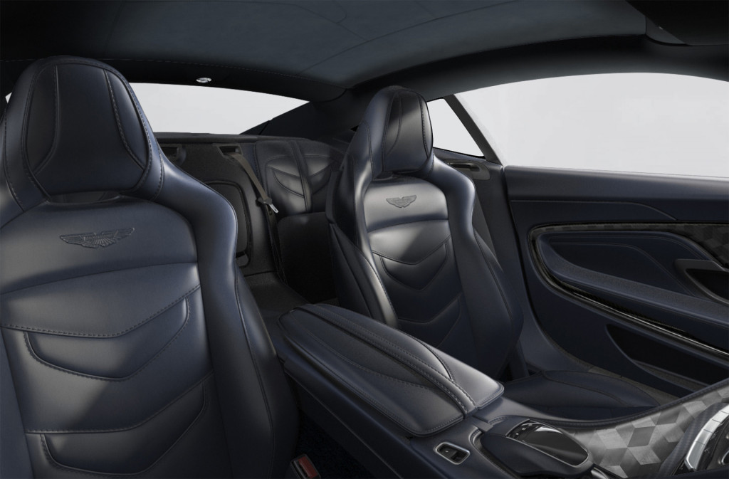 2019 Aston Martin DBS Superleggera designed by Daniel Craig