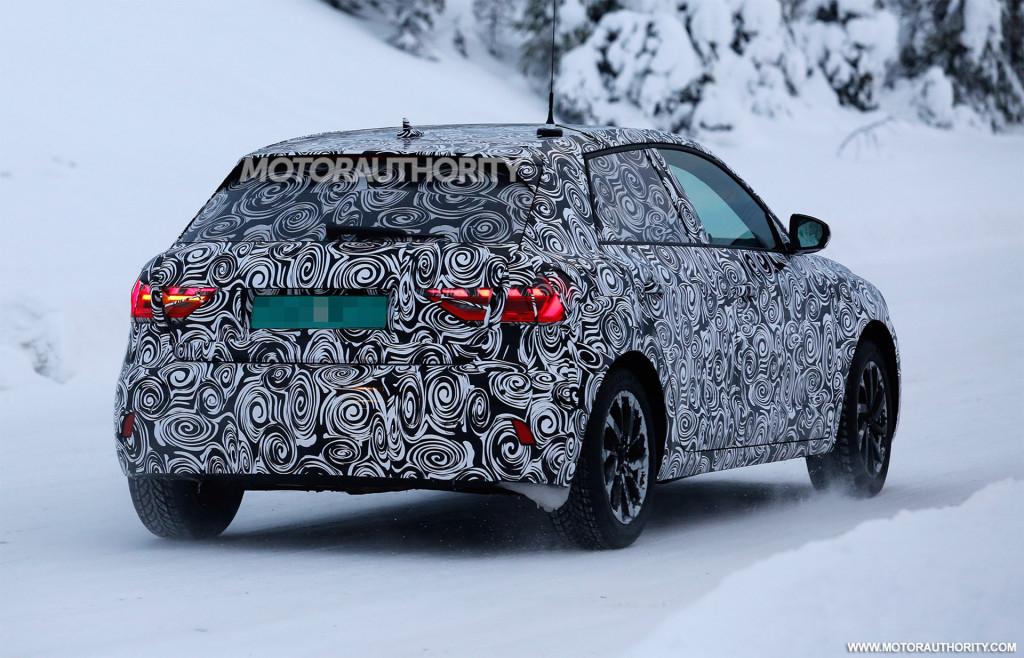 2019 Audi A1 spy shots