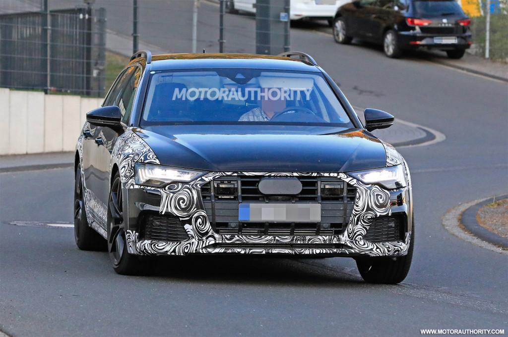 2019 Audi A6 Allroad spy shots