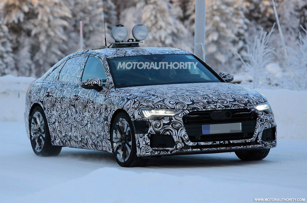 2019 Audi A6 spy shots and video