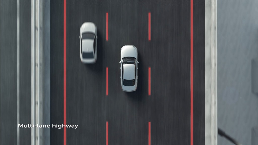 2019 Audi A8 self-driving conditions