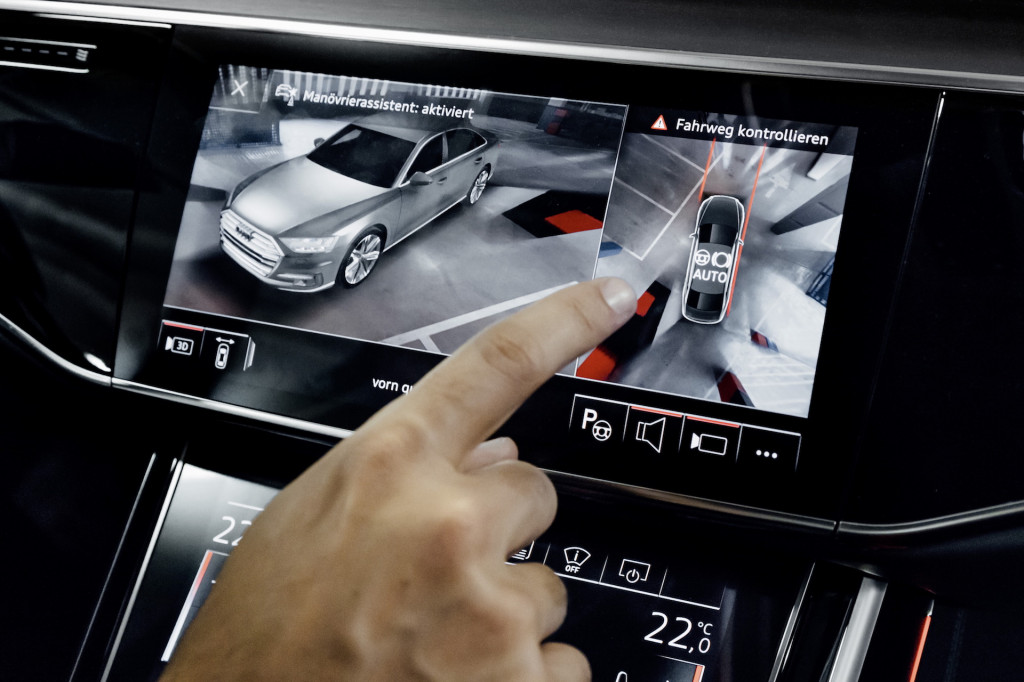 2019 Audi A8 Maneuver Assist
