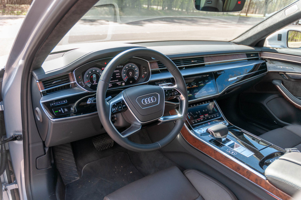 Audi's future interiors will be all screens, no buttons, and use augmented reality