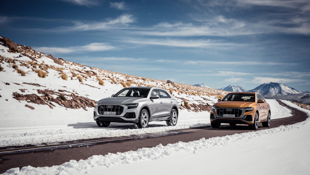 2019 Audi Q8 priced from $68,395, rivals BMW X6 and Mercedes GLE Coupe