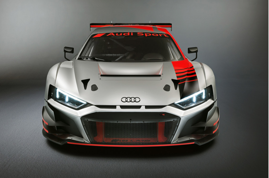2019 Audi R8 LMS race car