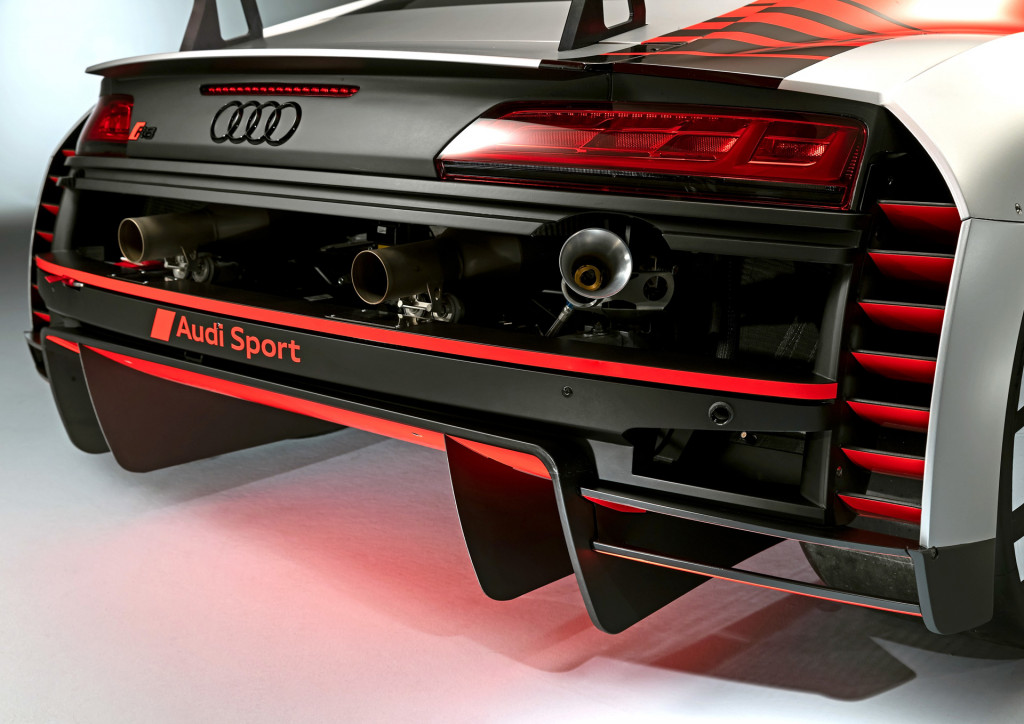 Updates to Audi R8 previewed by 2019 LMS race car
