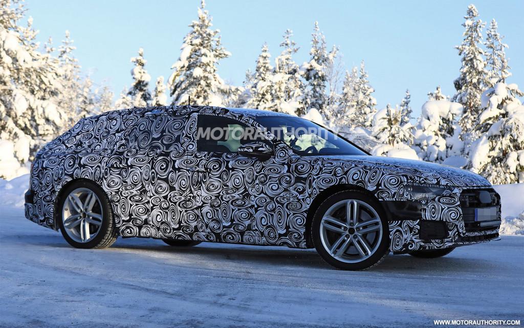 2019 Audi S6 Avant spy shots