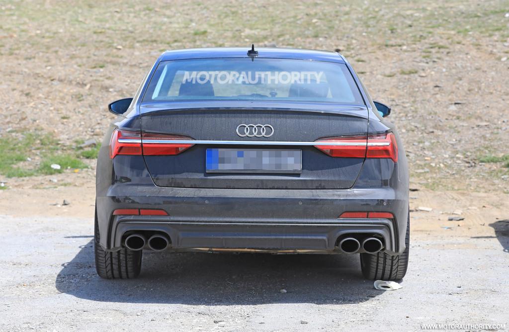 2019 Audi S6 spy shots