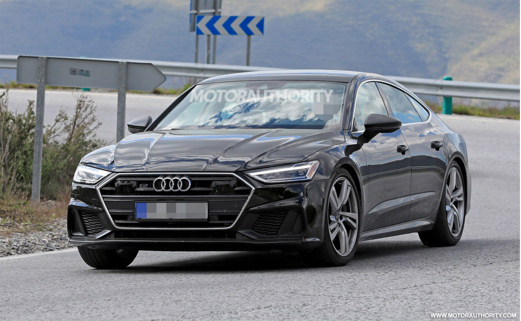 2019 Audi S7 spy shots and video