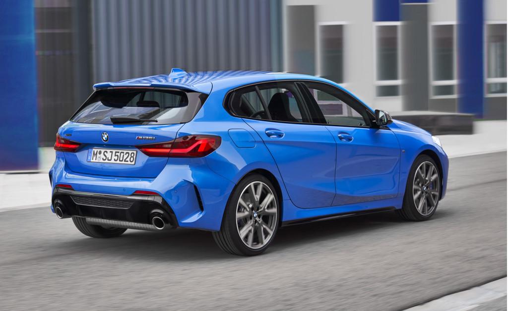2019 BMW 1-Series hatchback