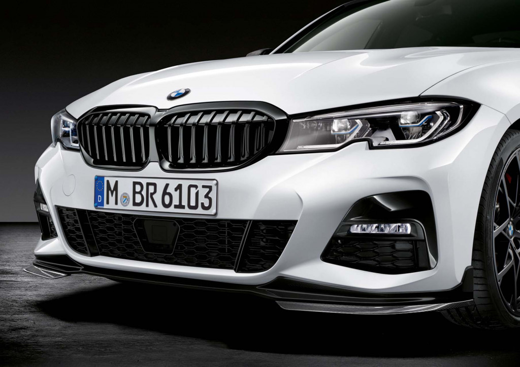 BMW is ready with M Performance Parts for the new 3 Series