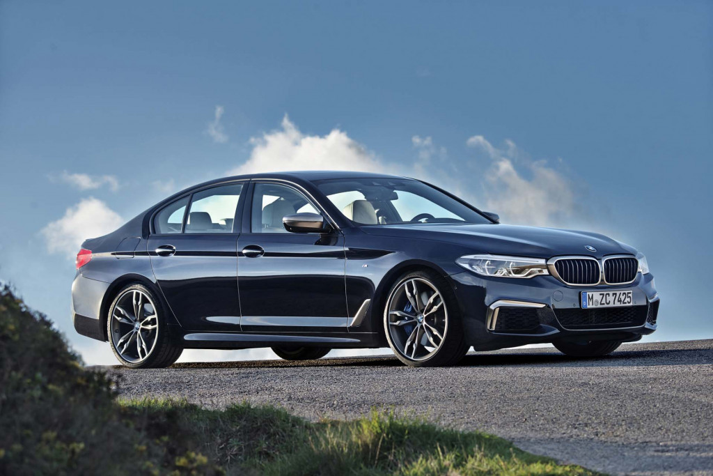 More powerful V-8 on the way for BMW M550i