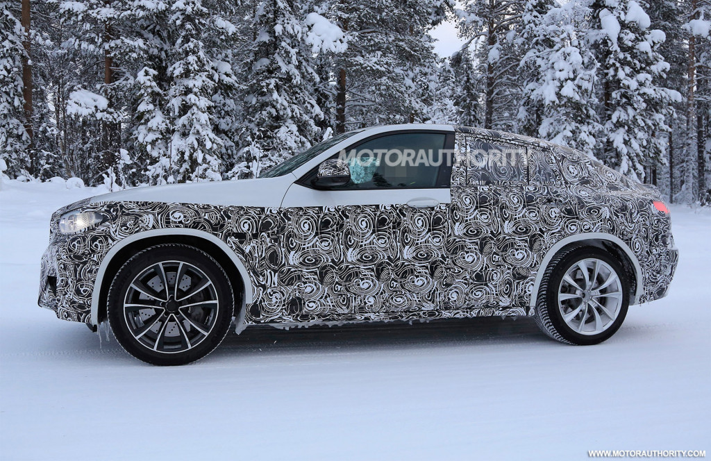 2019 BMW X4 M spy shots and video